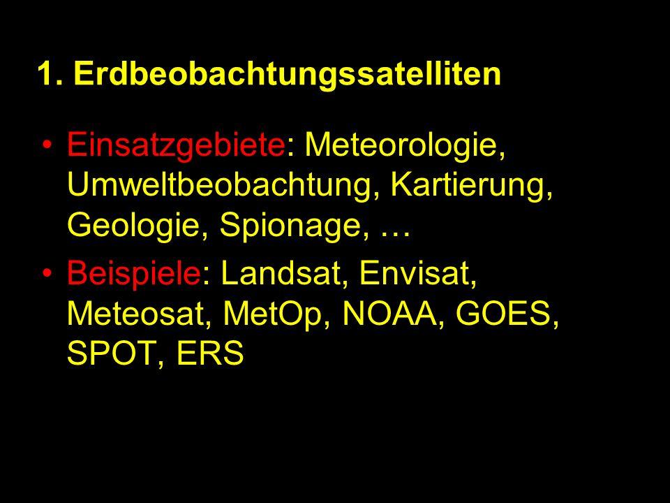 1. Erdbeobachtungssatelliten