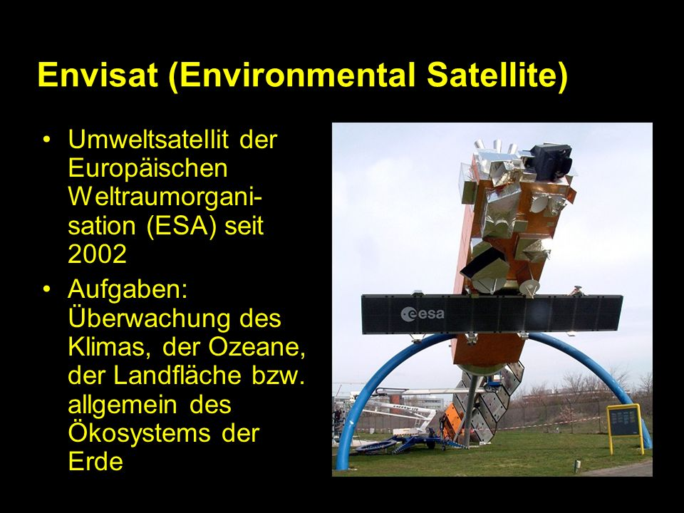Envisat (Environmental Satellite)