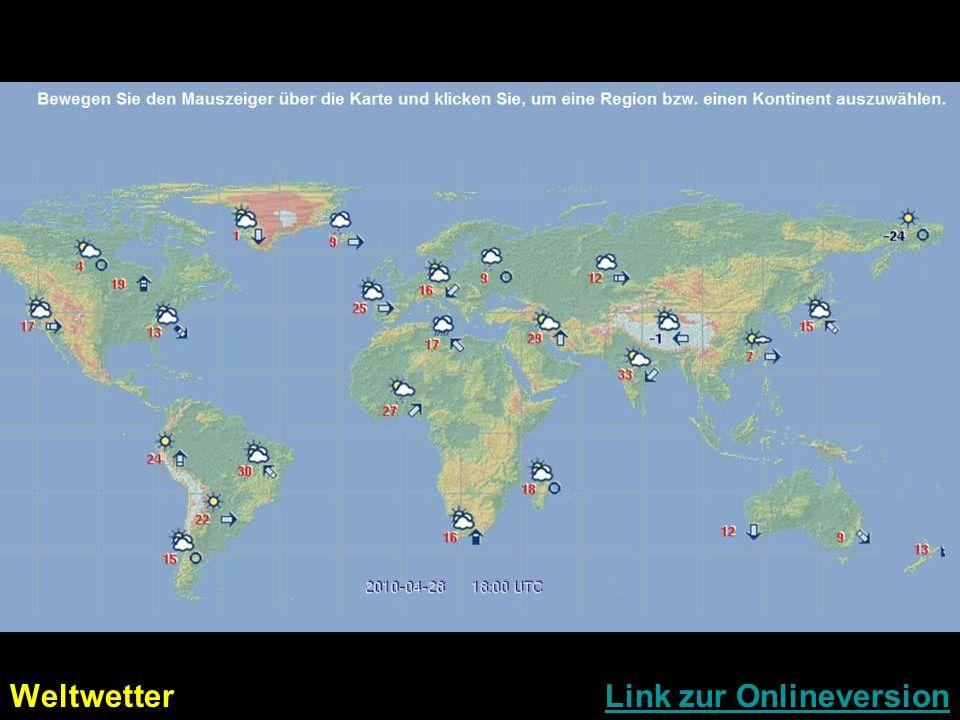 Weltwetter Link zur Onlineversion
