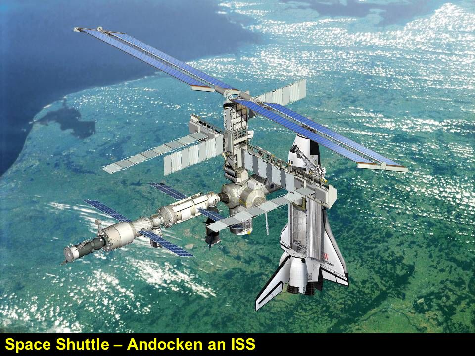 Space Shuttle – Andocken an ISS
