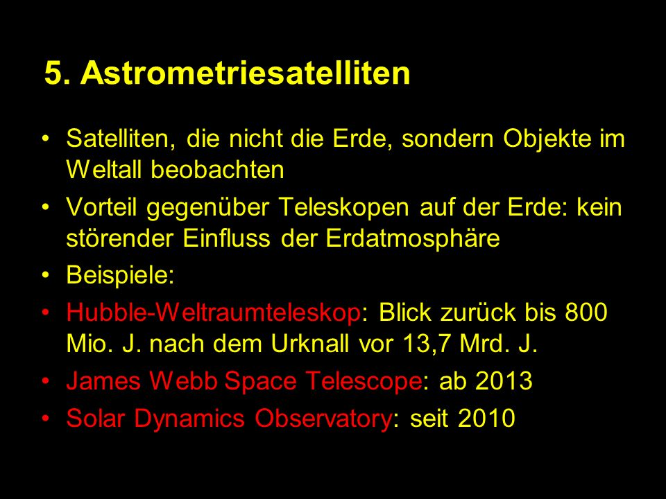 5. Astrometriesatelliten
