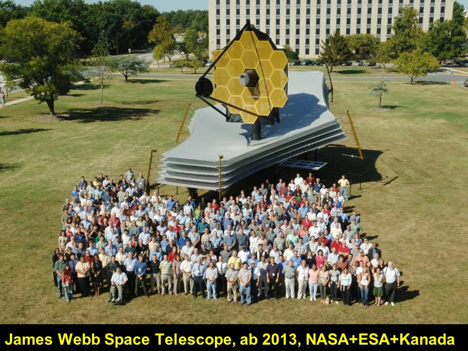 James Webb Space Telescope, ab 2013, NASA+ESA+Kanada