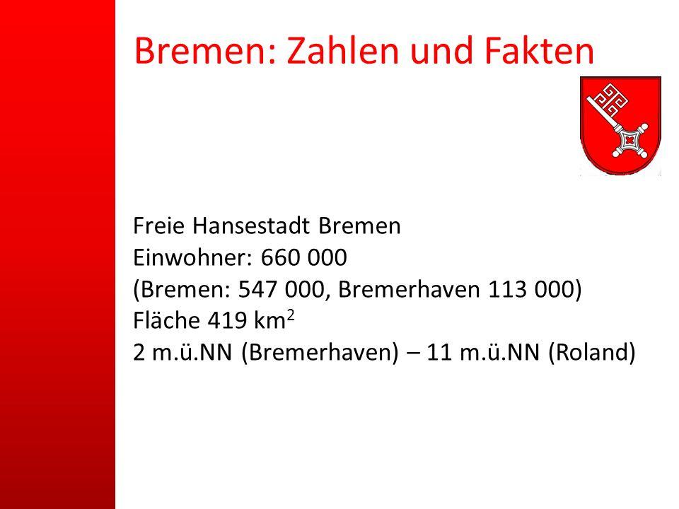 Bremen: Zahlen und Fakten
