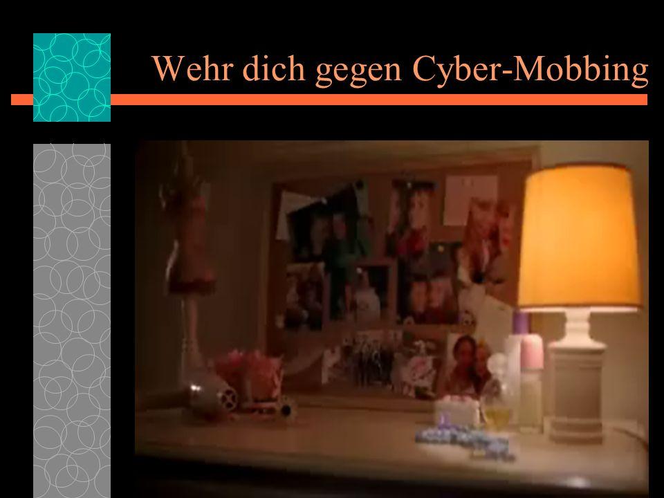 Wehr dich gegen Cyber-Mobbing