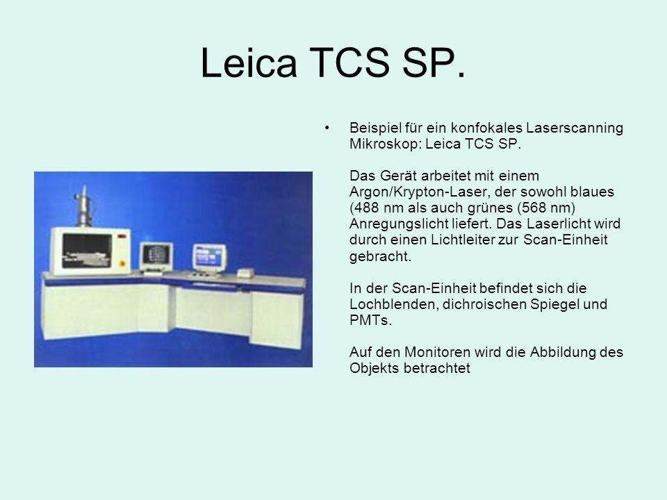 Leica TCS SP.