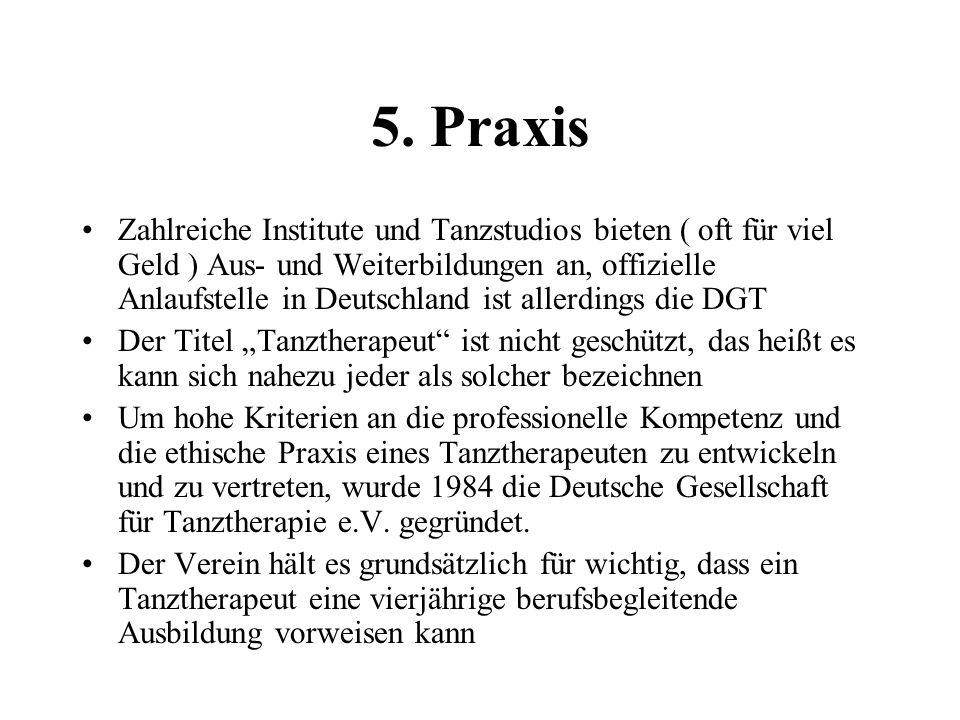 5. Praxis