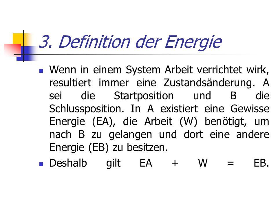 3. Definition der Energie