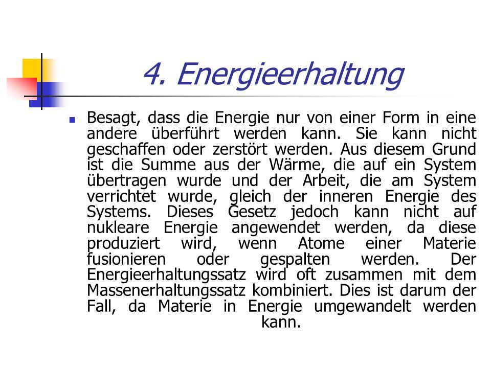 4. Energieerhaltung