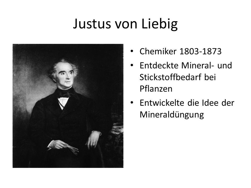 Justus von Liebig Chemiker 1803-1873