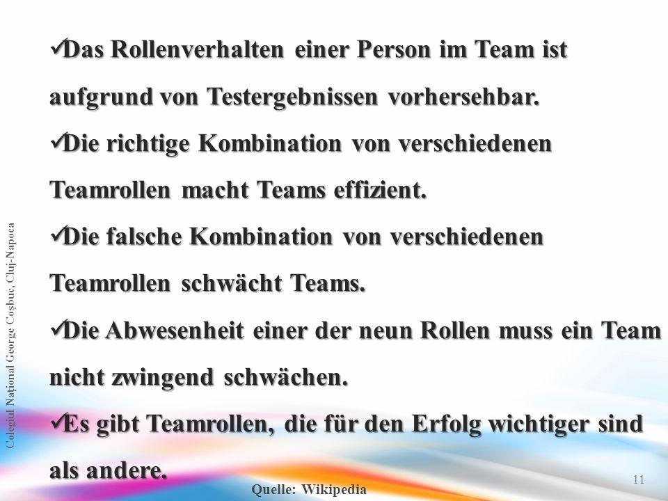 Die falsche Kombination von verschiedenen Teamrollen schwächt Teams.