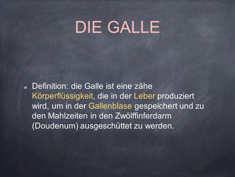 DIE GALLE