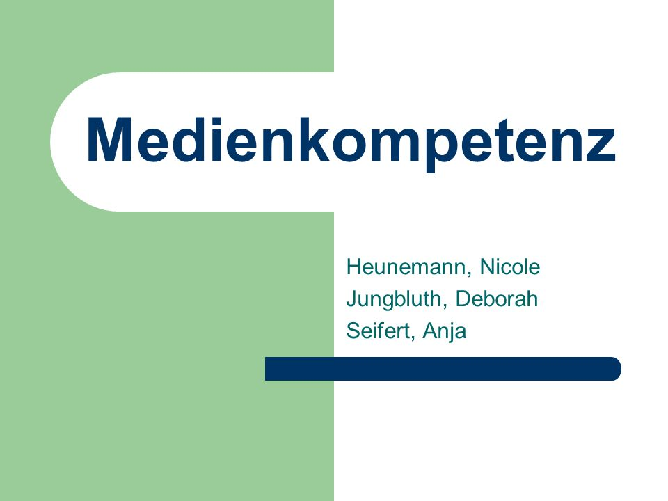 Heunemann, Nicole Jungbluth, Deborah Seifert, Anja