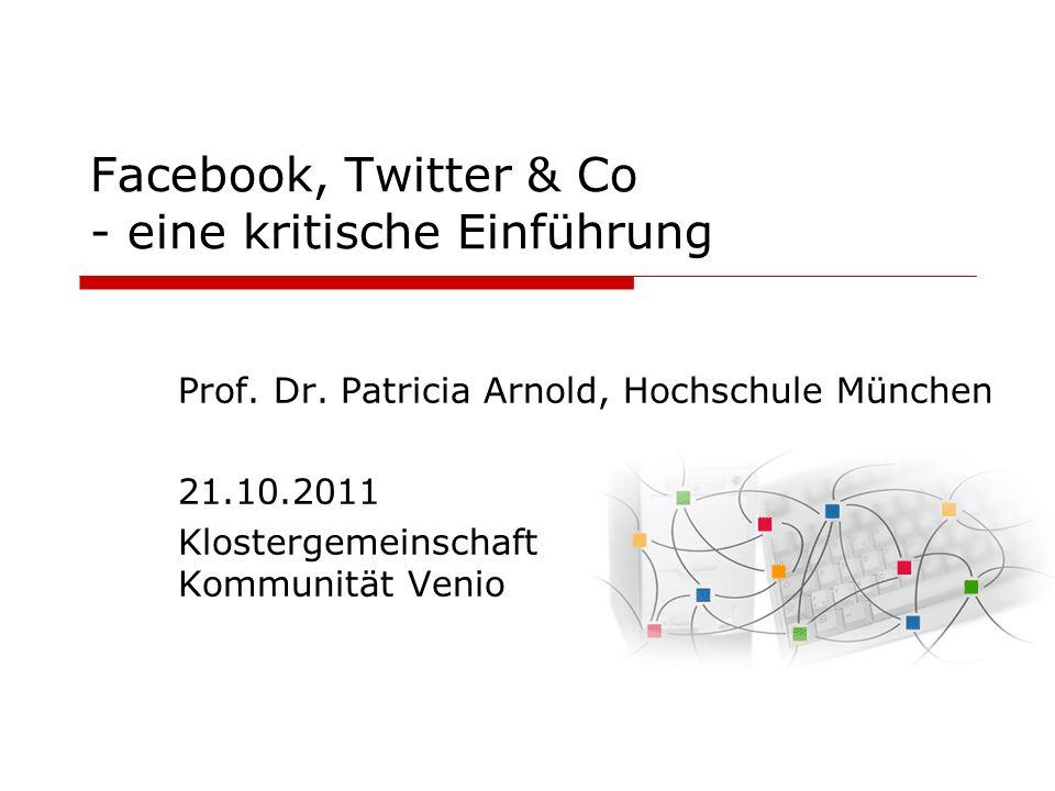 Facebook, Twitter & Co - eine kritische Einführung