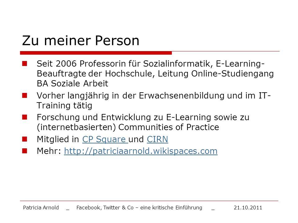 Zu meiner Person Seit 2006 Professorin für Sozialinformatik, E-Learning- Beauftragte der Hochschule, Leitung Online-Studiengang BA Soziale Arbeit.