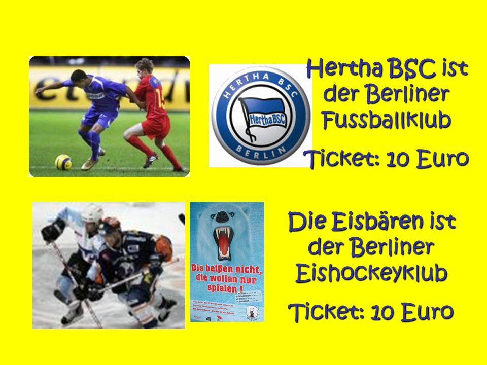 Hertha BSC ist der Berliner Fussballklub