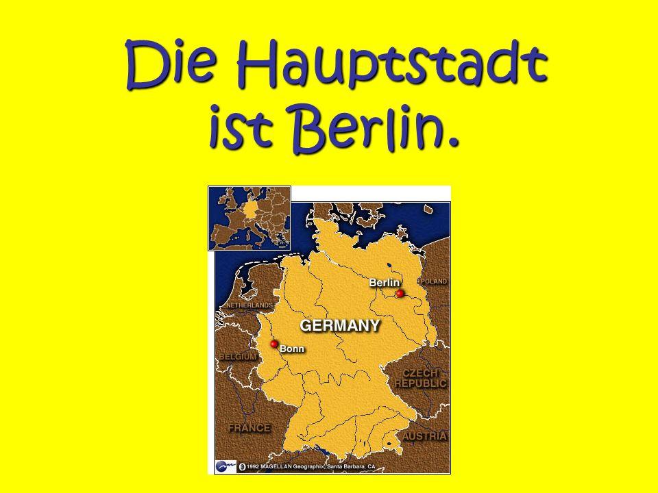 Die Hauptstadt ist Berlin.