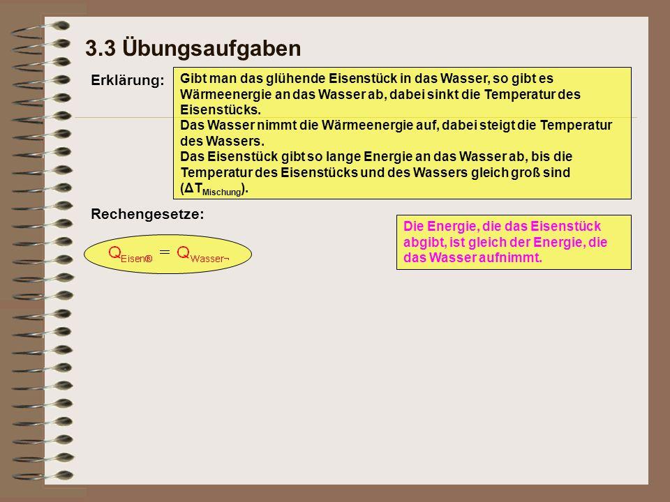 3.3 Übungsaufgaben Erklärung: Rechengesetze: