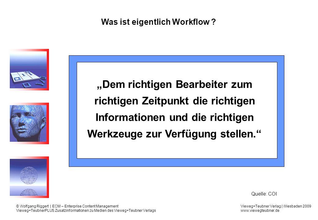 Was ist eigentlich Workflow