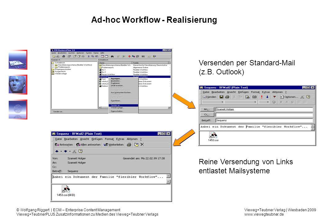 Ad-hoc Workflow - Realisierung