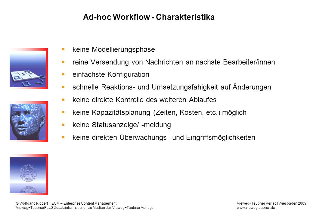 Ad-hoc Workflow - Charakteristika