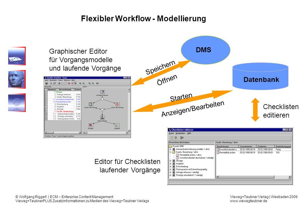 Flexibler Workflow - Modellierung