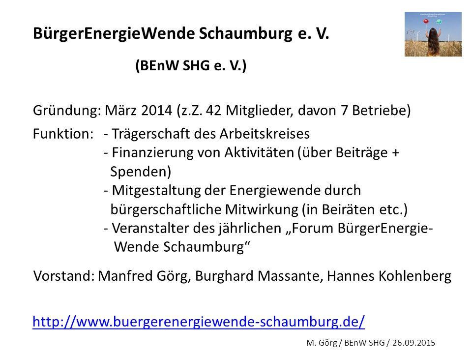 BürgerEnergieWende Schaumburg e. V.