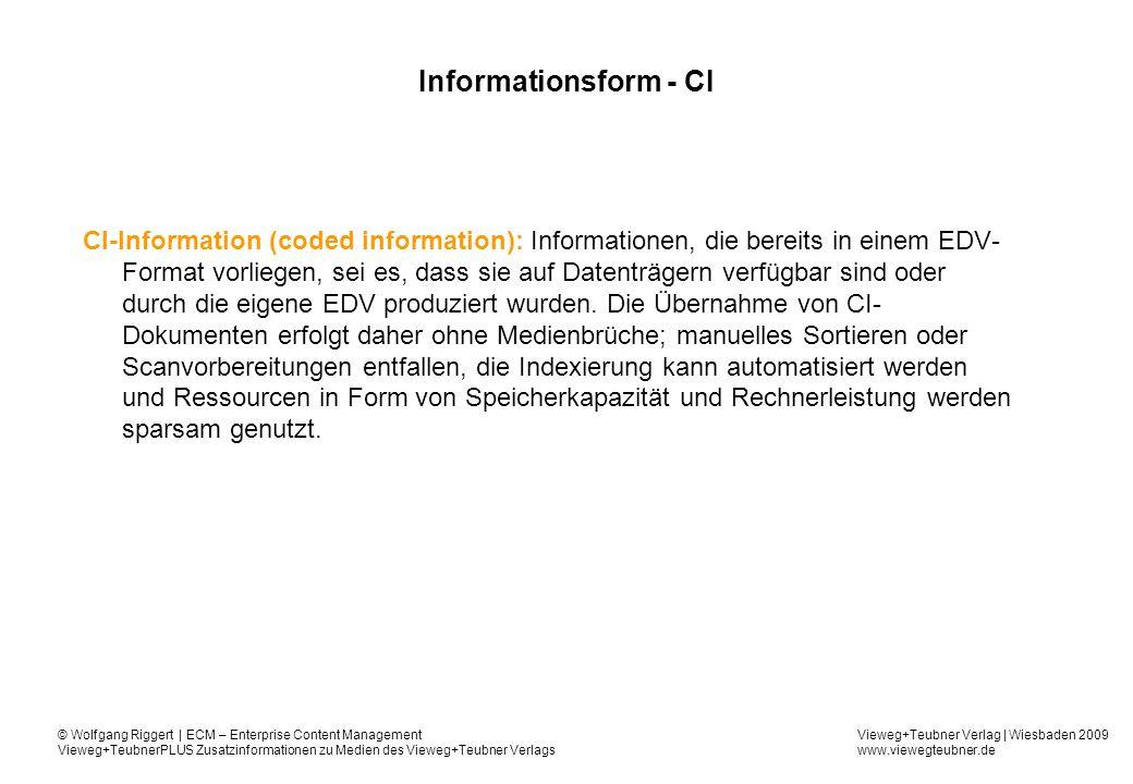 Informationsform - CI
