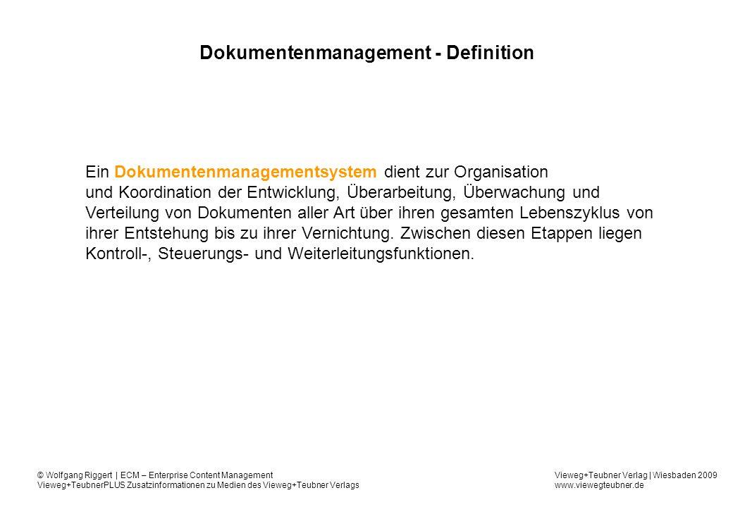 Dokumentenmanagement - Definition