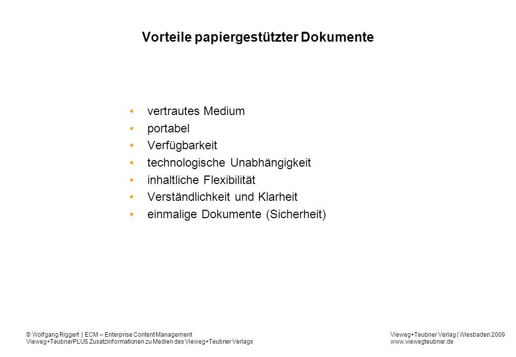 Vorteile papiergestützter Dokumente