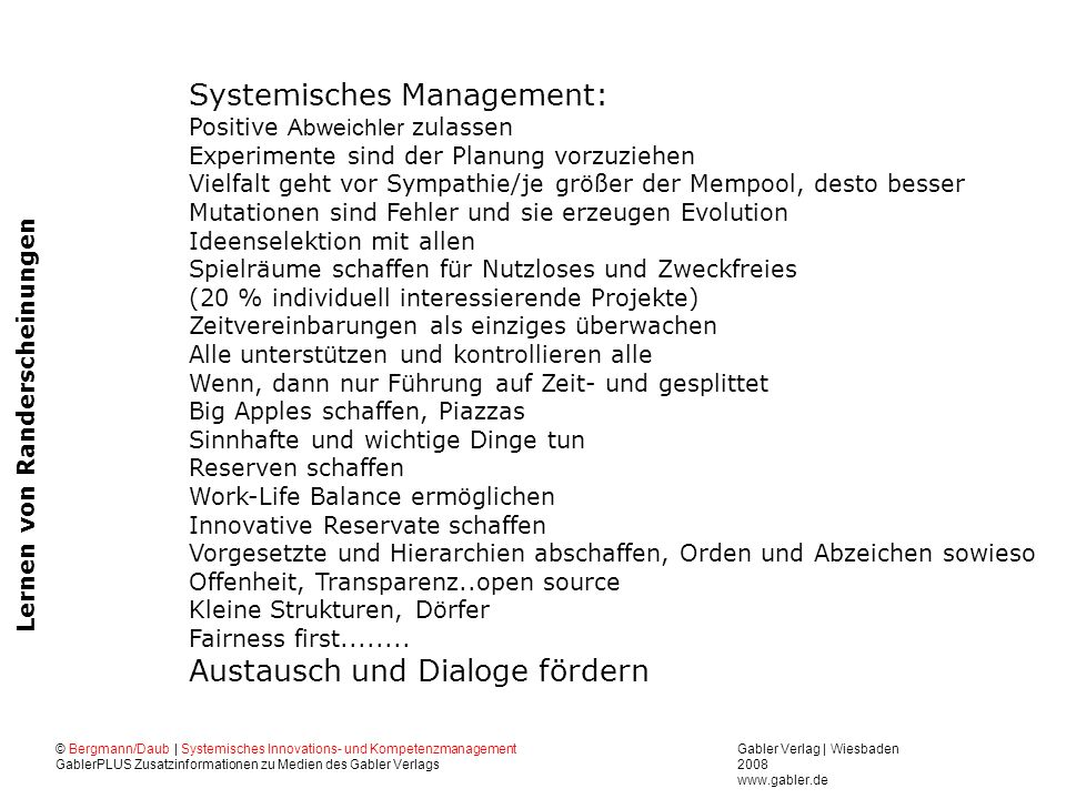 Systemisches Management: