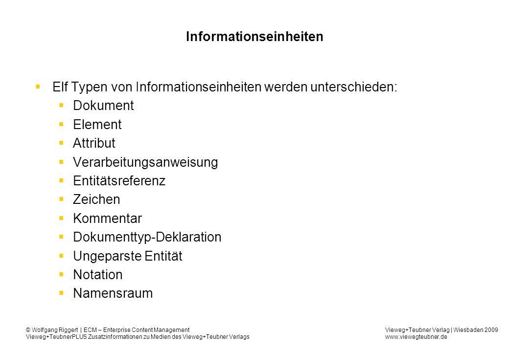 Informationseinheiten