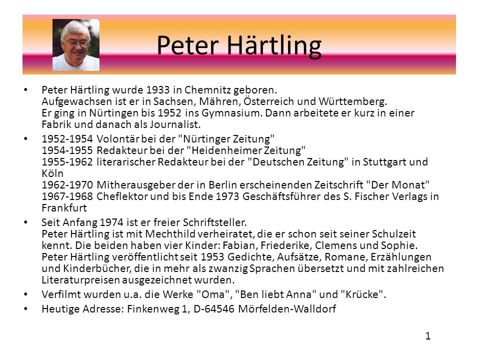 Peter Härtling