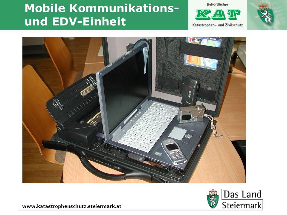 Mobile Kommunikations- und EDV-Einheit