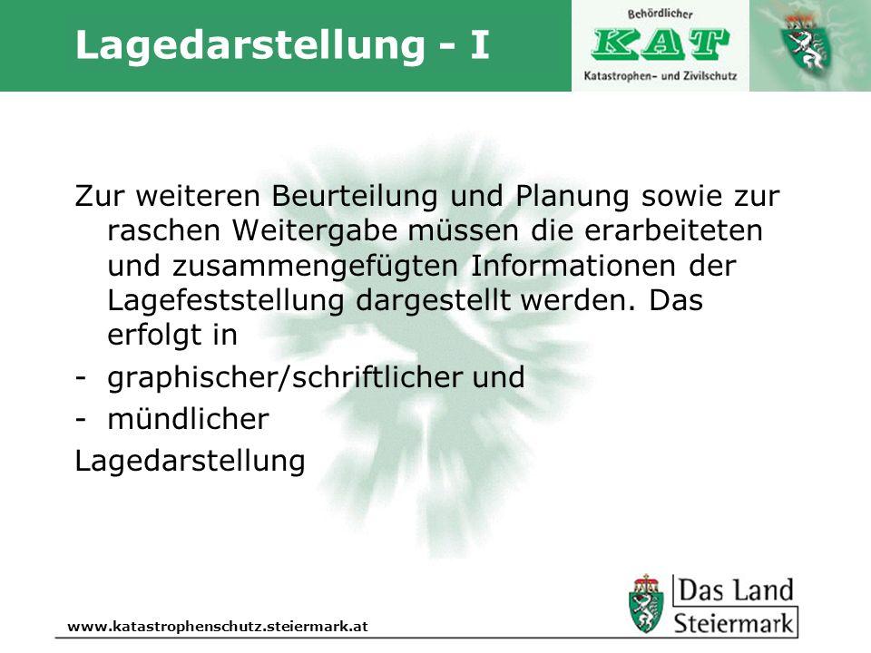 Lagedarstellung - I