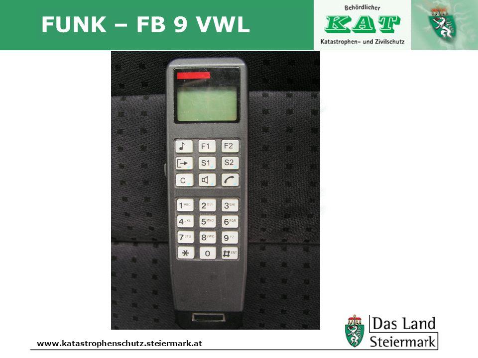 FUNK – FB 9 VWL