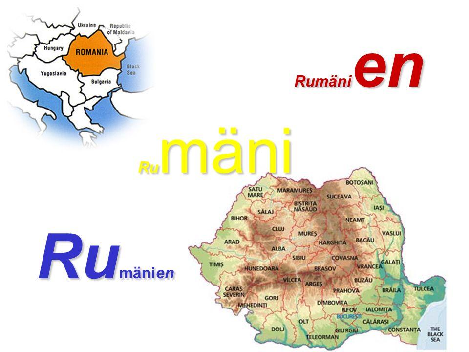 Rumänien Rumäni Rumänien