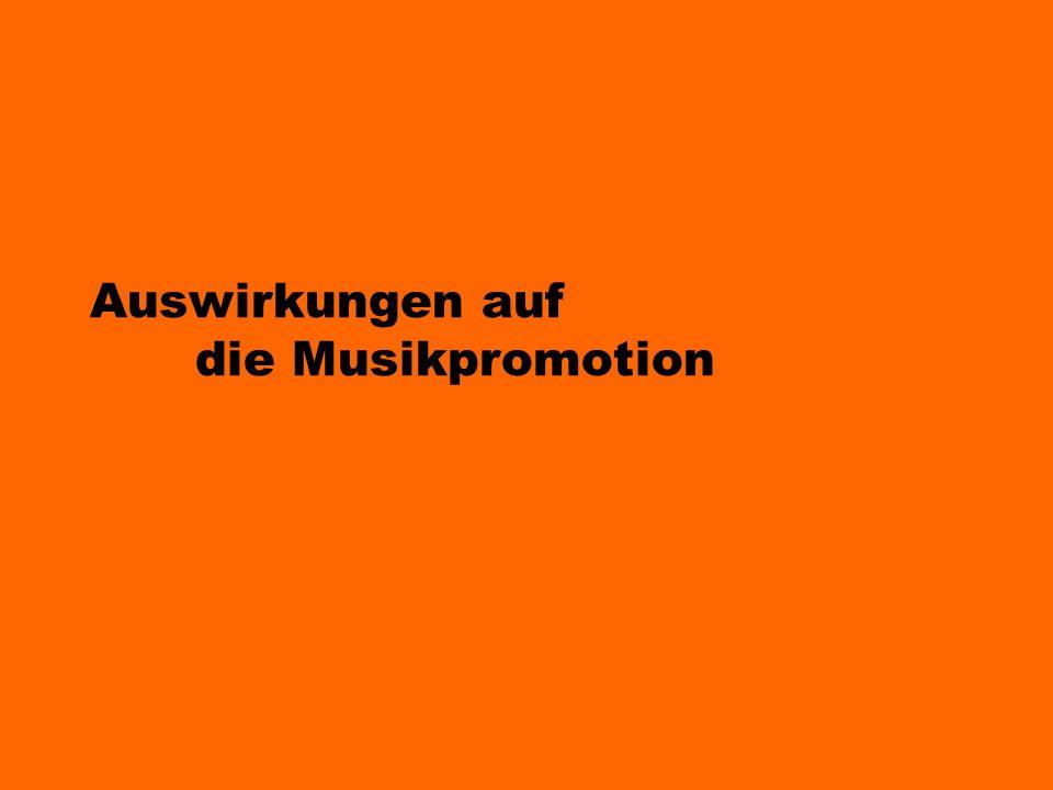 Auswirkungen auf die Musikpromotion
