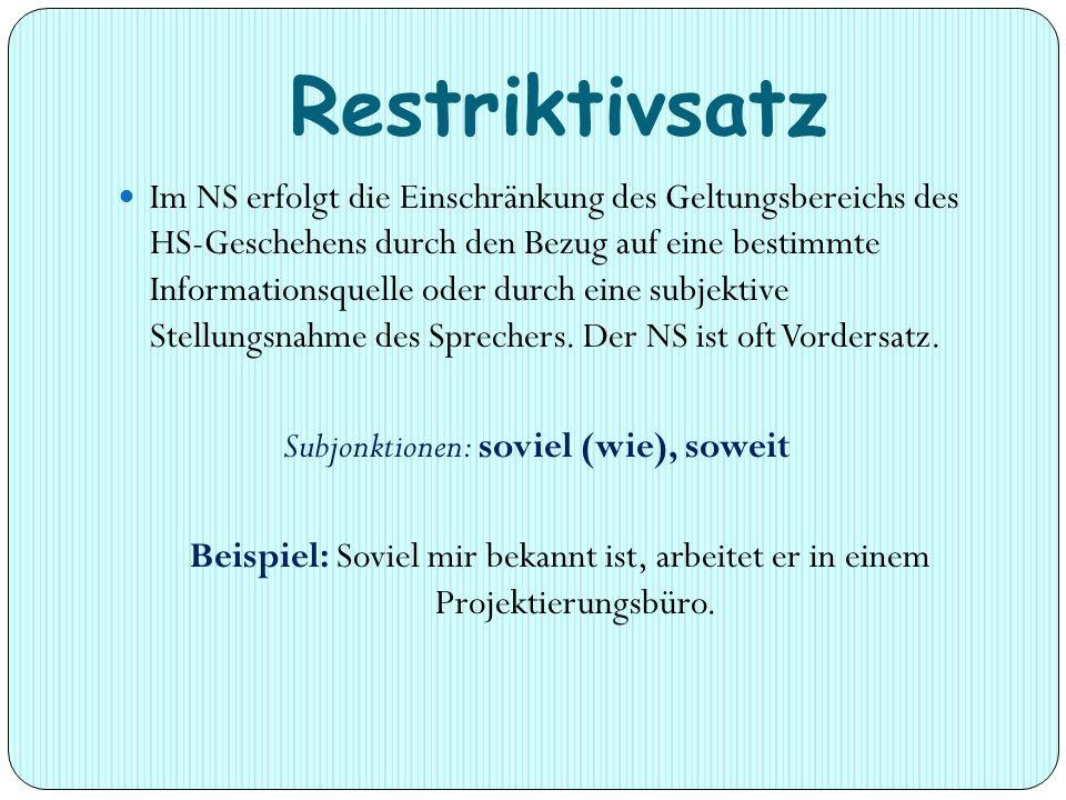 Restriktivsatz