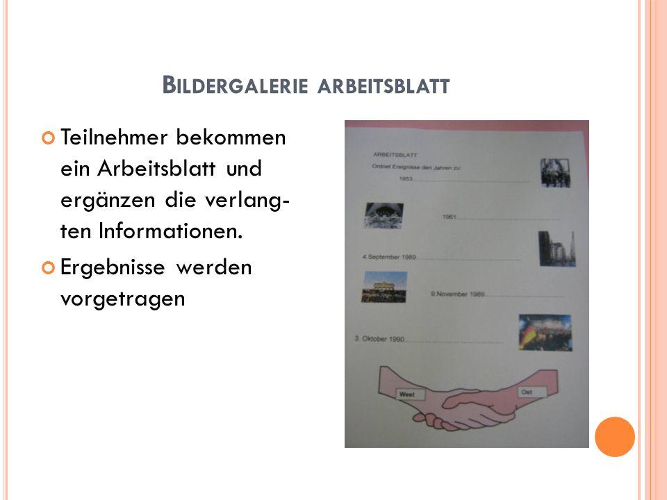 Bildergalerie arbeitsblatt