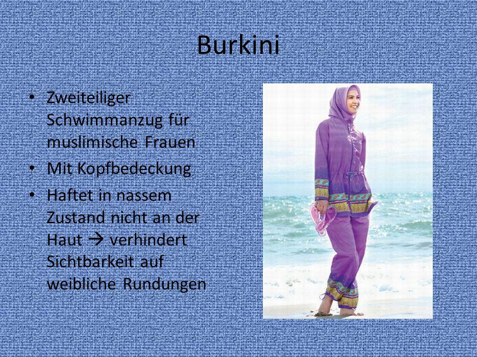 Burkini Zweiteiliger Schwimmanzug für muslimische Frauen