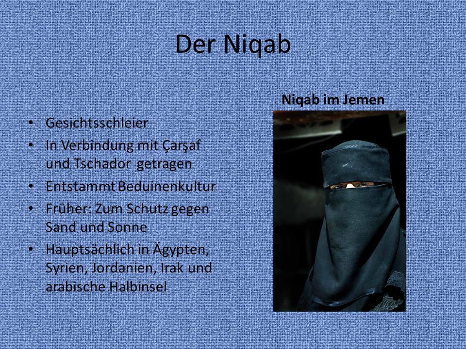 Der Niqab Niqab im Jemen Gesichtsschleier