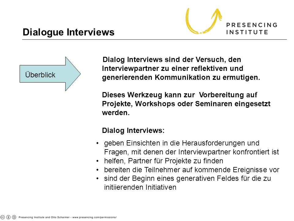 Dialogue Interviews