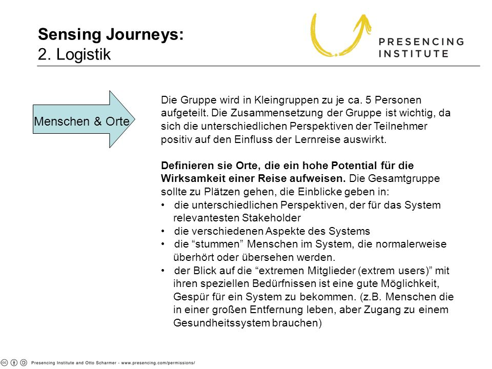 Sensing Journeys: 2. Logistik 2. Logistics