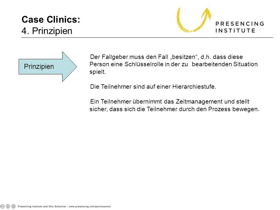 Case Clinics: 4. Prinzipien