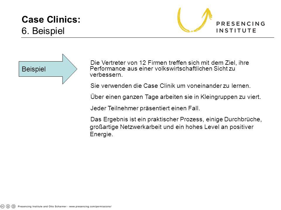 Case Clinics: 6. Beispiel