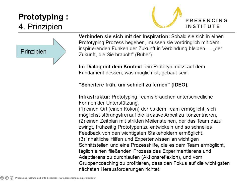 Prototyping : 4. Prinzipien