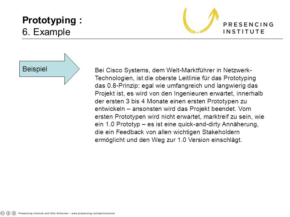 Prototyping : 6. Example Beispiel