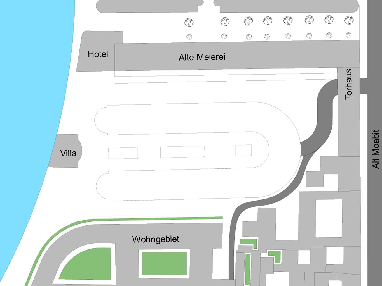 Hotel Alte Meierei Torhaus Alt Moabit Villa Wohngebiet