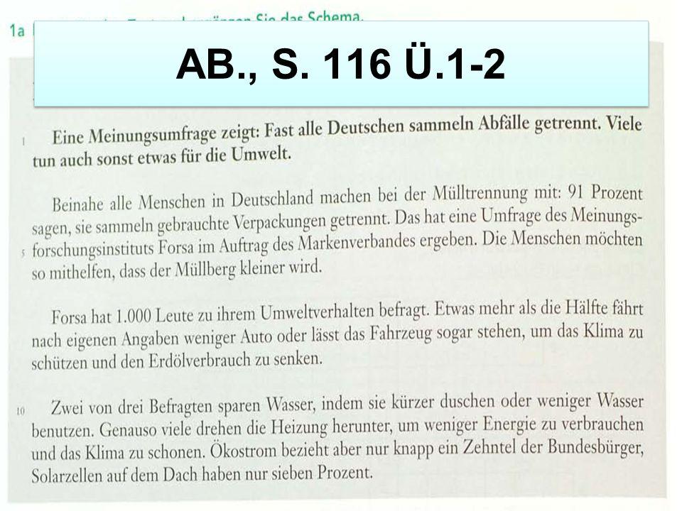 AB., S. 116 Ü.1-2