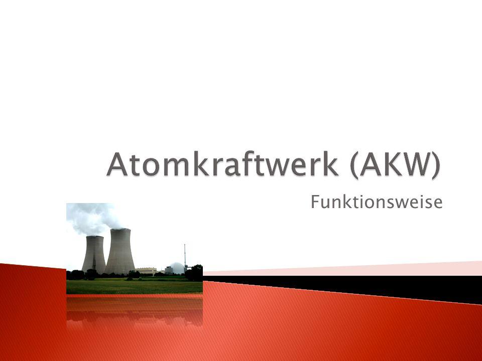 Atomkraftwerk (AKW) Funktionsweise